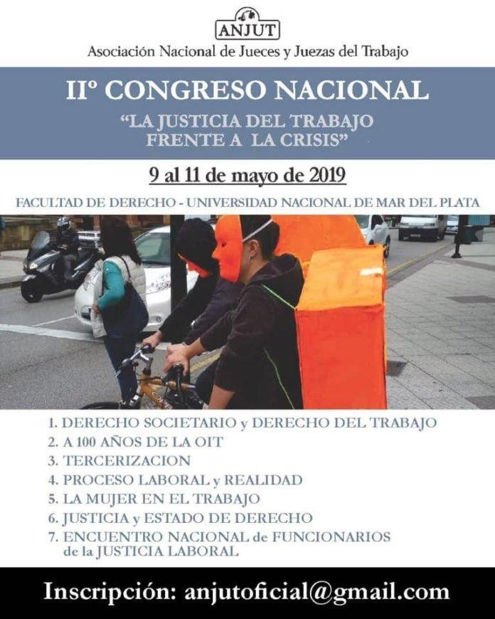 """Resultado de imagen para II Congreso Nacional """"La justicia del trabajo frente a la crisis"""""""